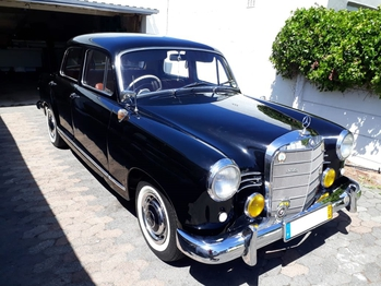 1960 Mercedes 180 main image