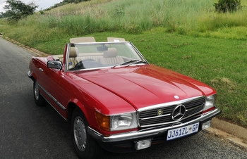 1984 Mercedes Benz 380SL main image
