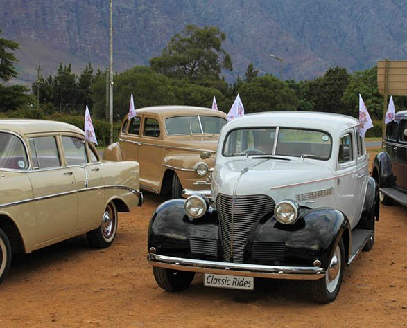 Classic Cars on group tour