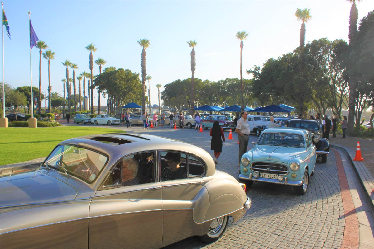 Classic cars on group booking